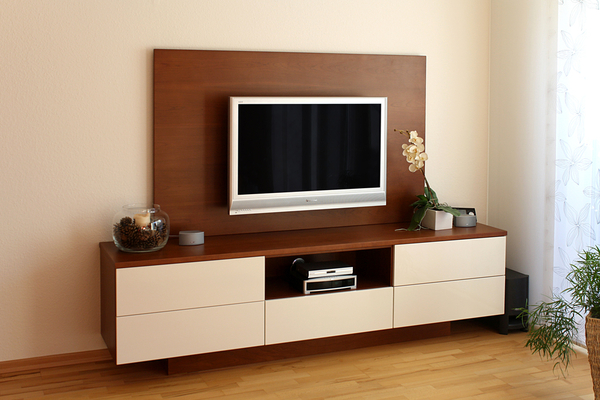tv m bel holz modern neuesten design. Black Bedroom Furniture Sets. Home Design Ideas